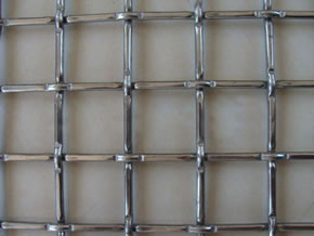 Galvanized Square Opening Crimped Wire Mesh